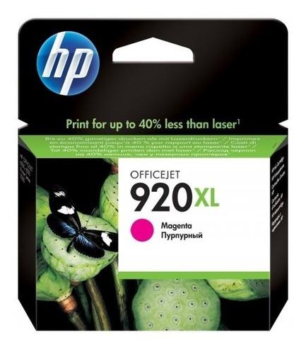 Cartucho Hp 920xl Magenta High Capacity Ink Cartridge - Cd97