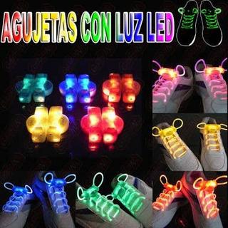 Agujetas Led Luminosas Brillan En Disco, Party Lights, Dance