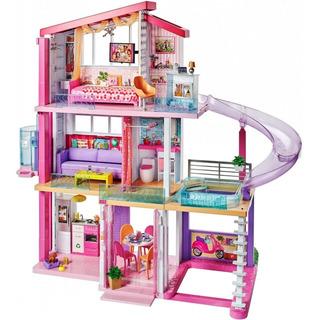 Super Casa De Los Sueños Barbie, Dreamhouse Con Luz Y Sonido