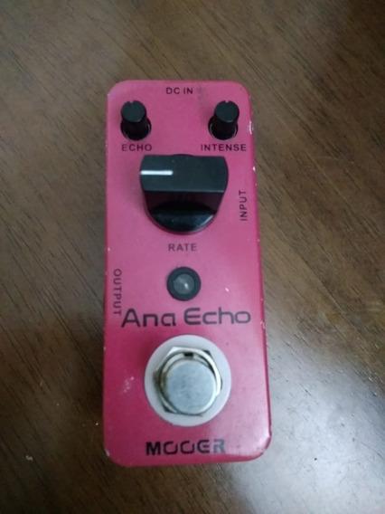 Pedal Delay Ana Echo Mooer