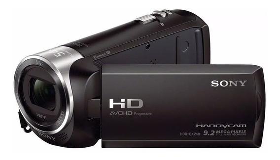 Filmadora Sony Handycam Hdr-cx240 Full Hd 9.2 Mega Pixels