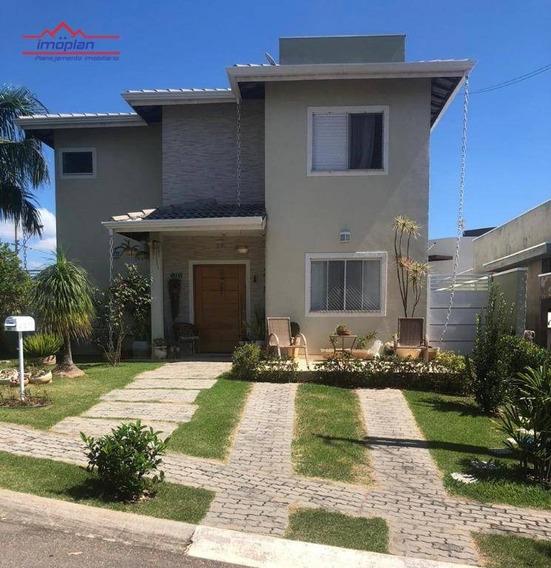 Casa Com 4 Dormitórios À Venda, 209 M² Por R$ 850.000,00 - Condomínio Terras De Atibaia - Atibaia/sp - Ca4089