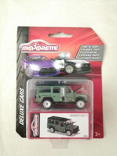 Land Rover Defender Majorette Deluxe Cars