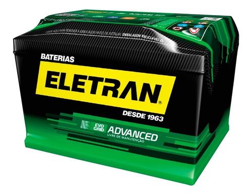Imagem 1 de 3 de Bateria Automotiva 60ah Eletran Advanced Nova Linha Auto