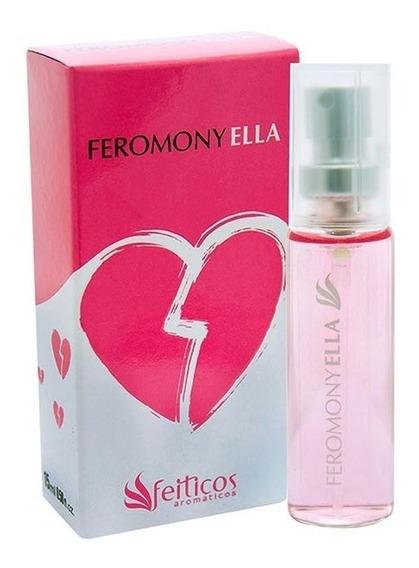 Perfume Afrodisíaco Feminino Feromony Ella 15ml