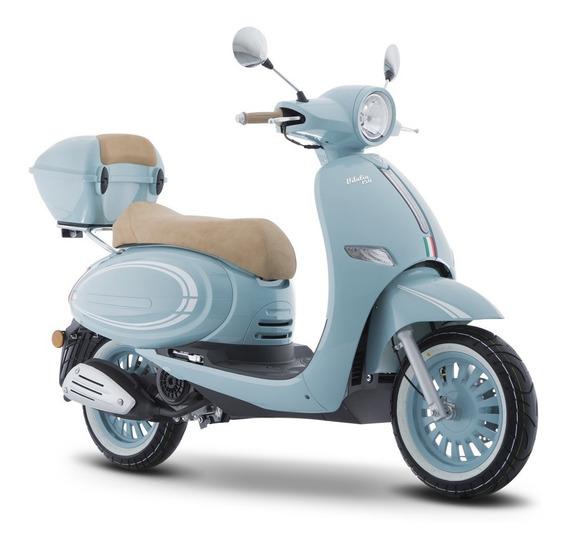 Moto Italika Vitalia150 Azul / Blanco