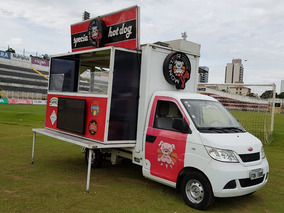Food Truck Rely , 1.200km , Completo, Chapas , Geladeiras