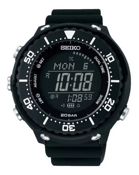 Relógio Seiko Prospex Solar Digital Sbep013