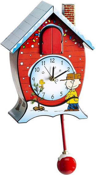 Mark Feldstein Peanuts Ckpnx Reloj Cucú Navideño