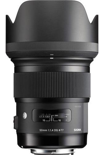 Lente Sigma 50mm F/1.4 Dg Hsm Art Nikon Canon Ofertón ! ! !