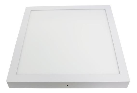 Luminária Plafon Sobrepor Led 30w Quadrado Led Branco Frio