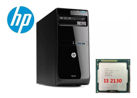 2hp 3500 Cpu Pc Desktop Core I3 2130 3.4 Ghz - 4gb-hd 500 Gb