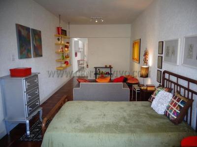 Linda Kitnet - 42m² - Mobiliada - Vila Buarque - Ed2343