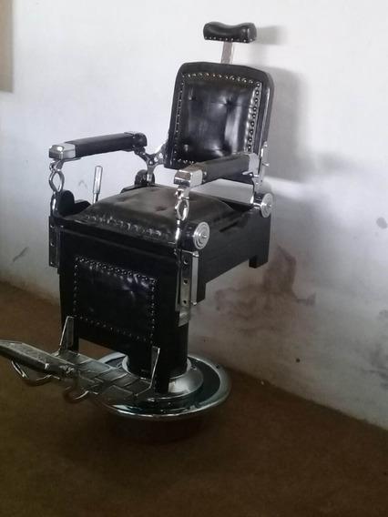 Cadeira De Barbeiro Antiga Frete Grátis