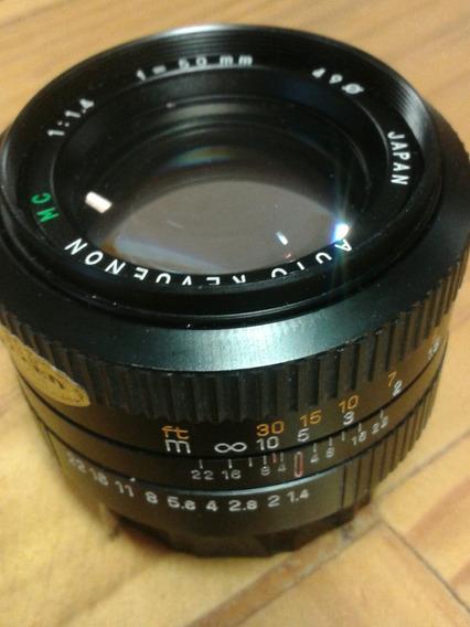Lente Luminosa 50mm Para Pentax