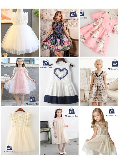 Vestidos De Niña Para Fiesta Ropa Para Niña Elegante