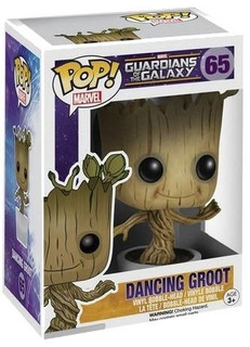 Funko Pop Guardians Of The Galaxy 65 Dancing Groot Nuevo M4e