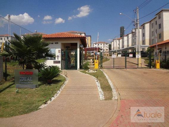 Apartamento Com 2 Dormitórios À Venda E Locação, 44 M² - Vila São Francisco - Hortolândia/sp - Ap6603