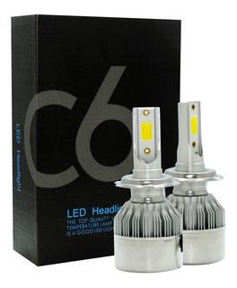 Oferta Luz Led C6 Bombillo Carro Hid 72w/7600l H4/h13/9007