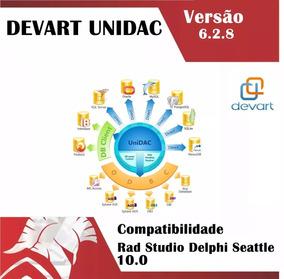 Devart Unidac Versão 6.2.8 Delphi Rad Studi 10 Seattle