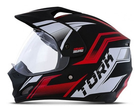 Capacete Protork Endure Th1 New Adventure Motocross Trilha