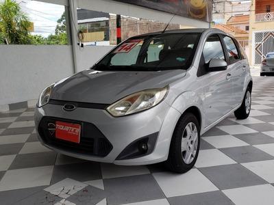 Ford Fiesta Rocam Se 1.0 Completo 2014 Prata