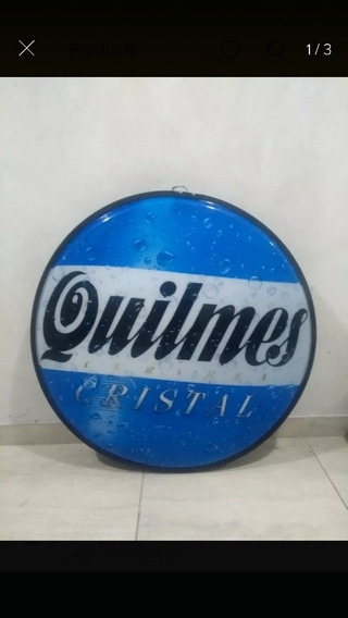 Cartel Luminoso Quilmes