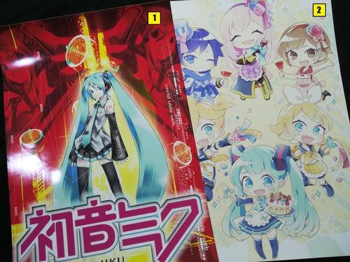 Posters A3 29x42cm Hatsune Miku / Vocaloid