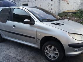 Peugeot 206 1.6 Passion Completo Cinza 2003/leia O Anuncio