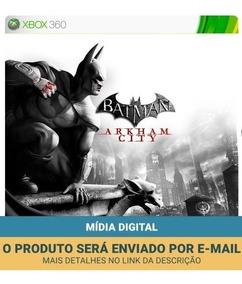 Batman Xbox 360 - Mídia Digital