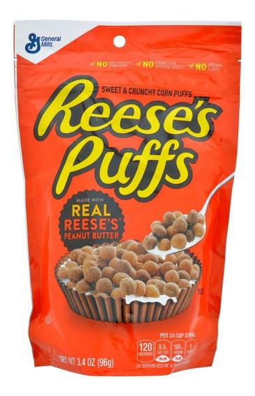 Cereal Resses Puffs Mantequilla De Mani Delicioso