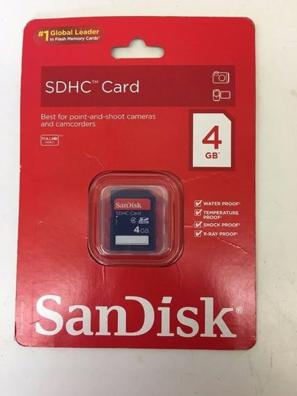 Sandisk 4gb Secure Digital Cartão De Alta Capacidade