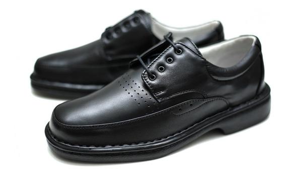 Sapato Couro Relax Numero Grande Até 47 Alcalay Tradicional