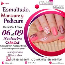 Curso De Uñas Profesional De Manicure Y Pedicure Y Esmalte