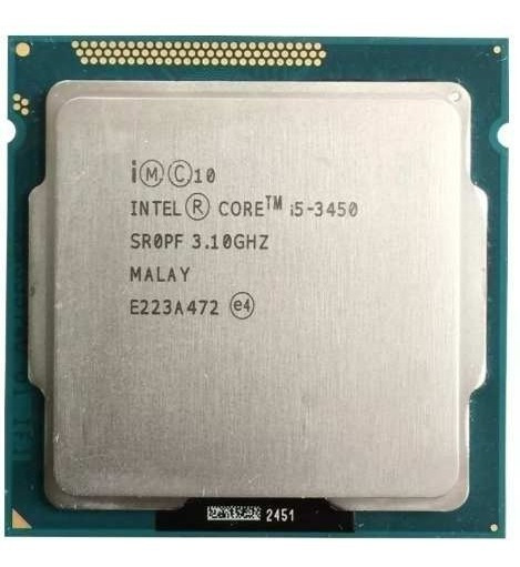 Processador Intel Core I5 3450