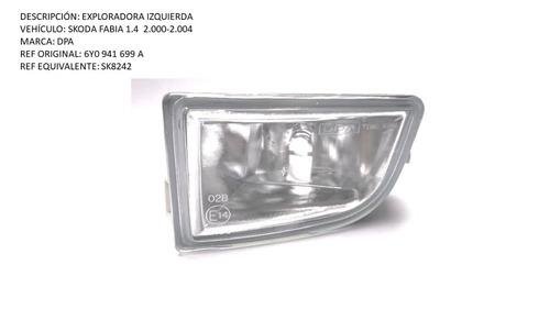Exploradora Izquierda Skoda Fabia 1.4  2000-2004