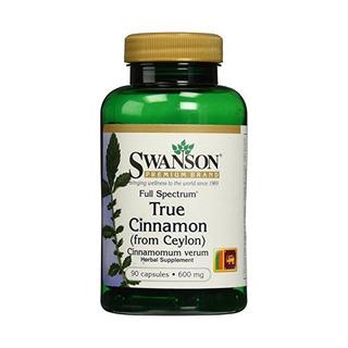 Swanson Full Spectrum Verdadera Canela 600 Mg 90 Caps