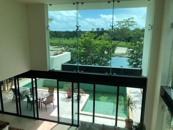 Espectacular Casa En El Country Club De Cancún, Q. Roo. (venta Ó Renta.)