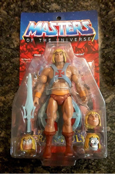 He Man Super 7 Master Of The Universe 95usd