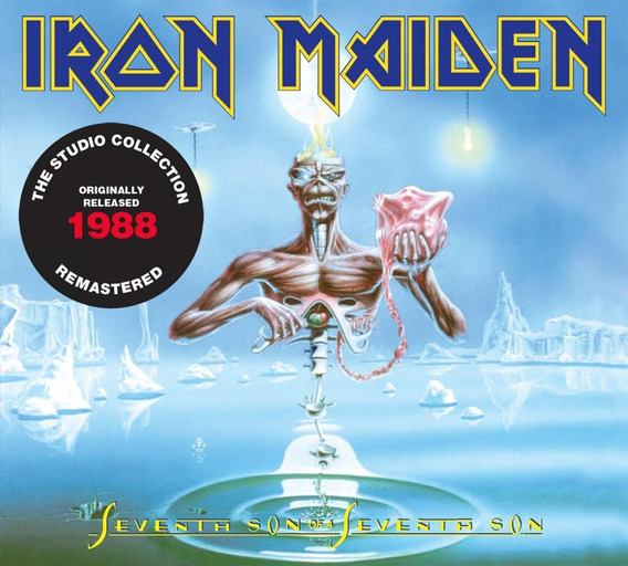 Cd Iron Maiden Seventh Son Of A Seventh Son (1988) Remastere