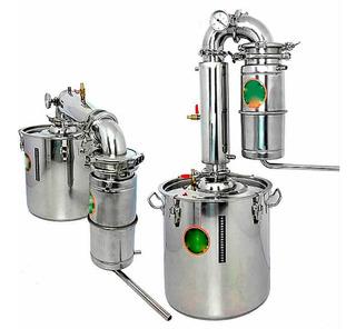 Destilador De Alcohol Metalico Con Capacidad De 45 Litros