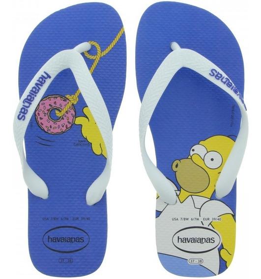 Chinela Havaianas Simpson Masculina Original
