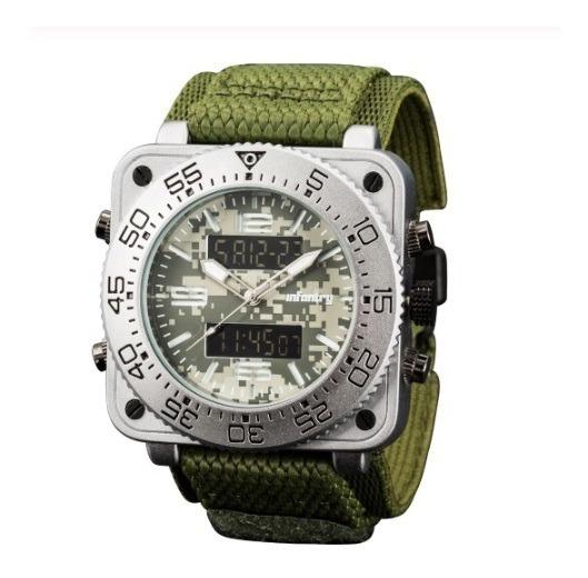 Relógio Masculino Analógico E Digital Infantry