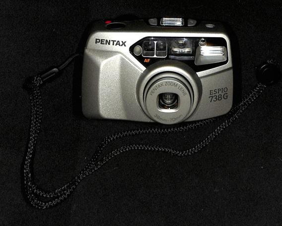 Câmera Analógica - Pentax - Espio 738g - 38mm - Funciona