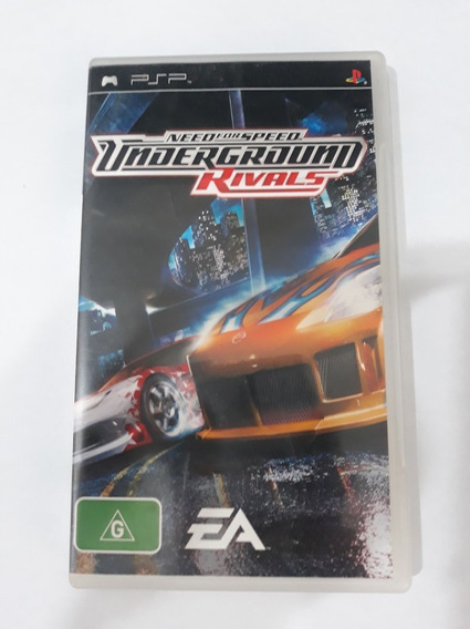 Need For Speed Underground Rivals Psp Midia Fisica