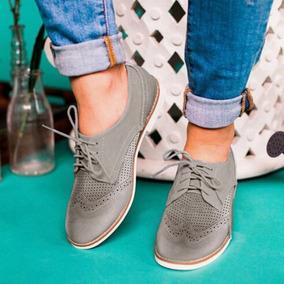 Zapatos Casuales Brogue Tallado