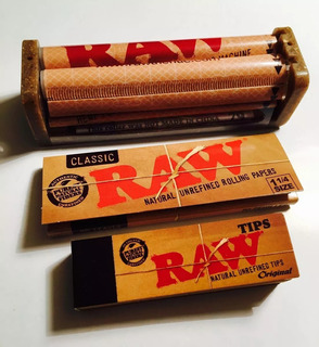 Kit Raw #3 / Hojillas 11/4 + Armador 79mm+tips Clasico