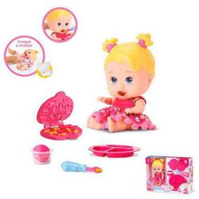 Boneca Little Dolls Come Come E Faz Caquinha Diver Toys