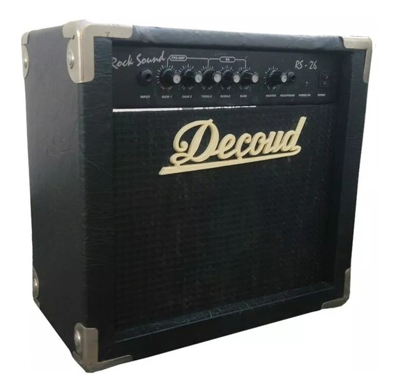 Amplificador De Guitarra 20 W Linea Rs Decoud Rs-26
