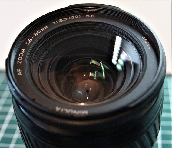 Minolta Af 28-80 -função Macro / Sony A-mount